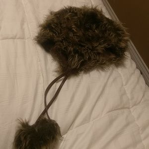 Faux Fur Hat with Ears Mossimo Supply Co.